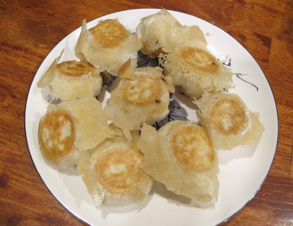 Water Fried Baozi (Modified fry Dumplings)