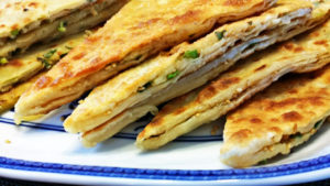 scallion sesames pancakes