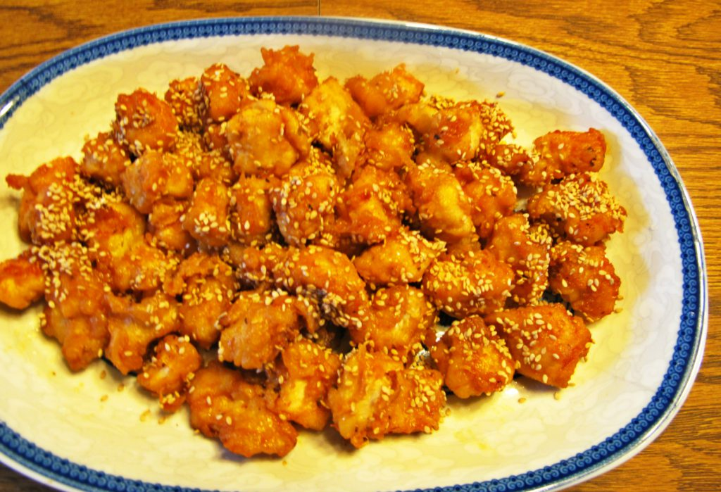 Honey Sesame Chicken 1