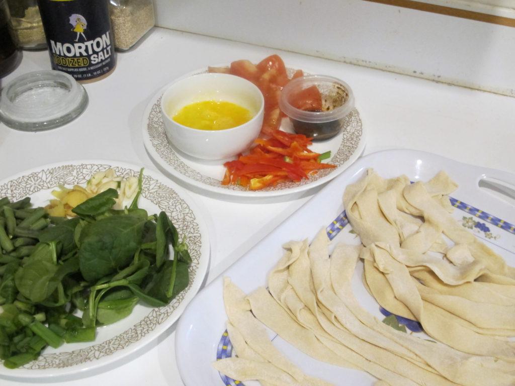 Hand Noodles Ingredients