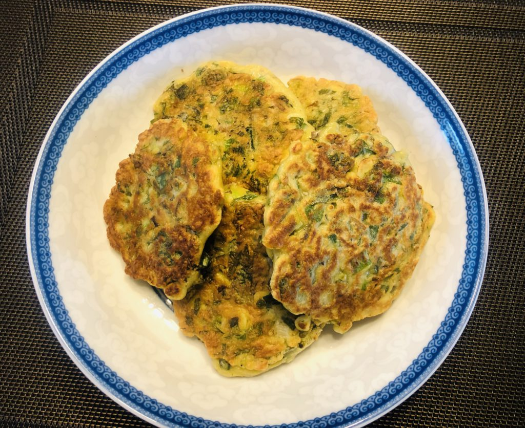 Purslane Pancakes