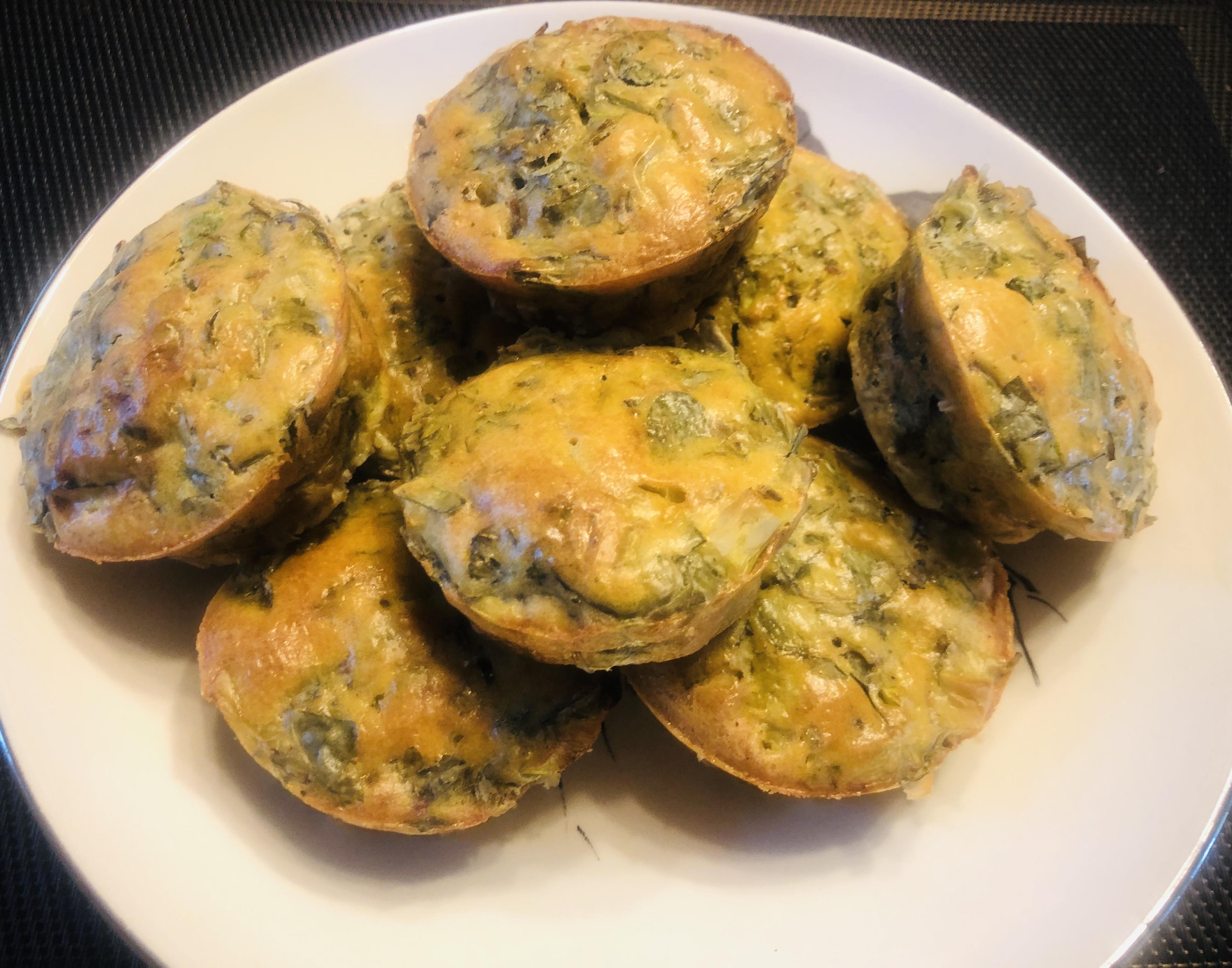 Eggs Purslance Cakes