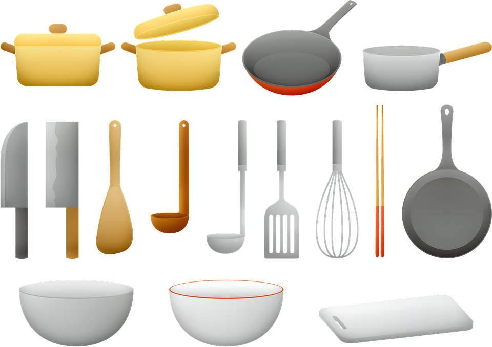 Basic Kitchenware and Cooking Utensils