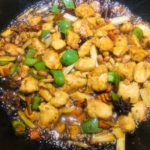 Kung Pao Chicken-Cooking